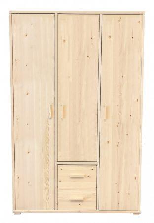 Adél 3 ajtós 2 fiókos szekrény