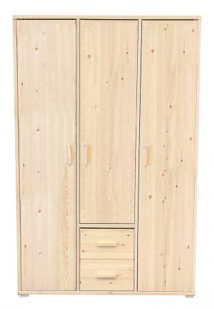 Adél 3 ajtós, 2 fiókos szekrények