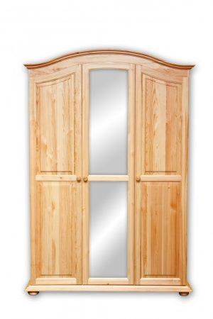 Fagold 3 ajtós íves szekrény