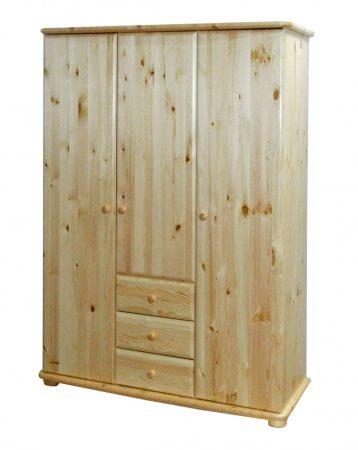 Gála 3 ajtós 3 fiókos szekrény