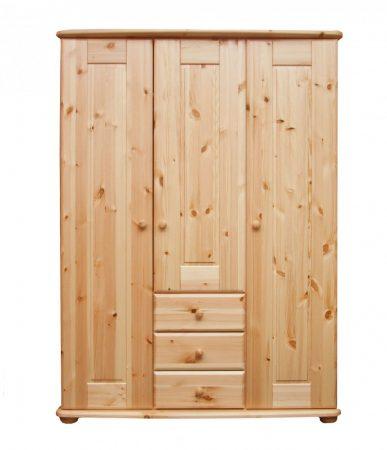 Viki 3 ajtós 3 fiókos szekrény