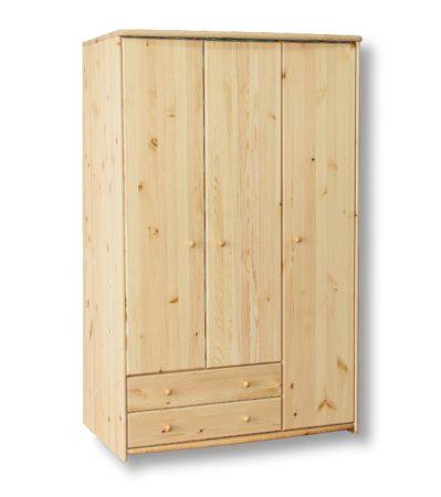 Zsolt 3 ajtós, 2 fiókos szekrény