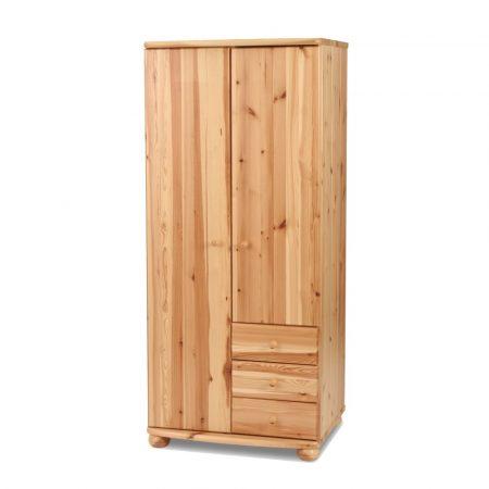 Claudia 2 ajtós 3 fiókos szekrény