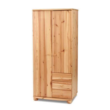 Claudia 2 ajtós, 3 fiókos szekrény