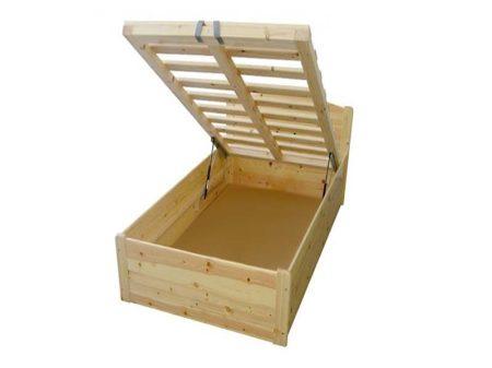 Henrik ágyneműtartós ágy