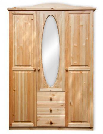 Fagold 3 ajtós, 3 fiókos szekrény