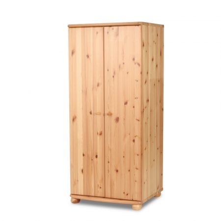 Claudia 2 ajtós szekrény - 45 cm mély