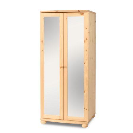 Claudia 2 ajtós tükrös szekrény